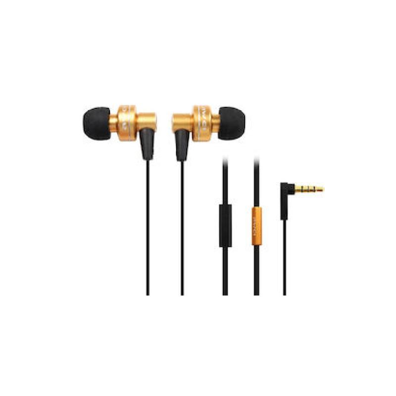 ενσύρματα ακουστικά awei ES-390i πορτοκαλί