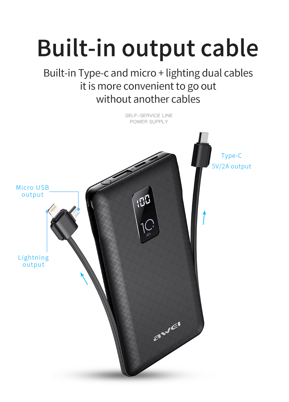 awei p8K power bank