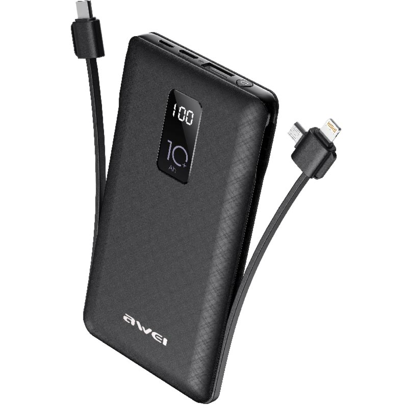 awei p8K power bank μαύρο