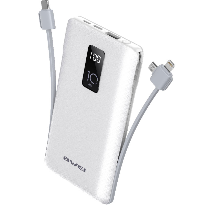 awei p8K power bank ασπρο