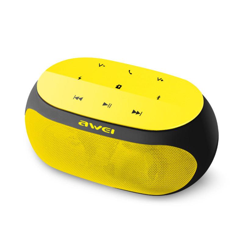 awei Y200 φορητό ηχείο κίτρινο