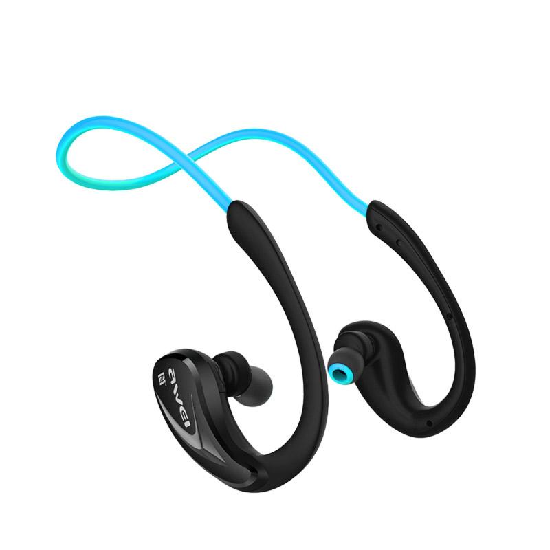 awei ασύρματα αδιάβροχα ακουστικά μπλέ