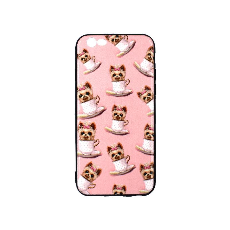 θήκη iphone 6 σιλικόνη dogs