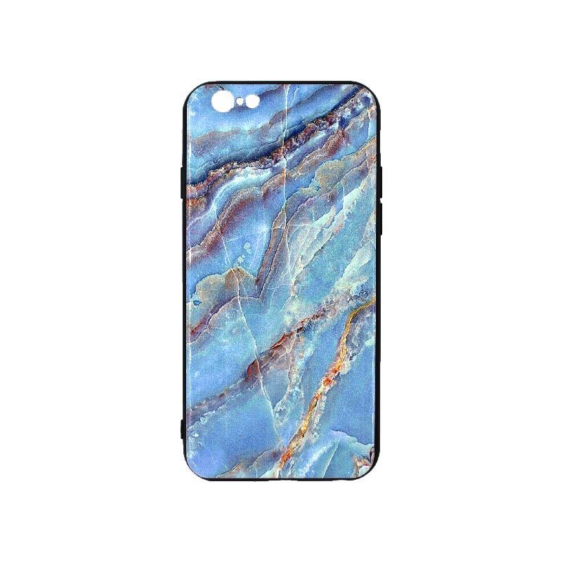 θήκη iphone 6 εμπριμέ μπλε