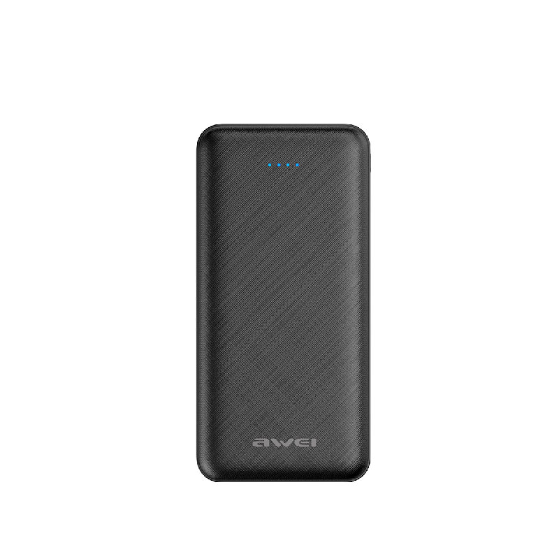 Awei Power Bank P47K 2000mAh Μαύρο