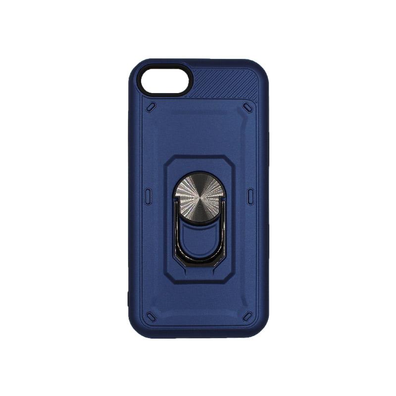 θήκη iphone 6 σιλικόνη popsocket μπλε 1