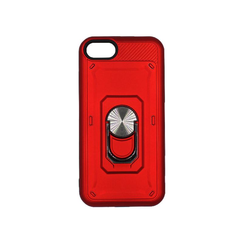 θήκη iphone 6 σιλικόνη popsocket κόκκινο 1