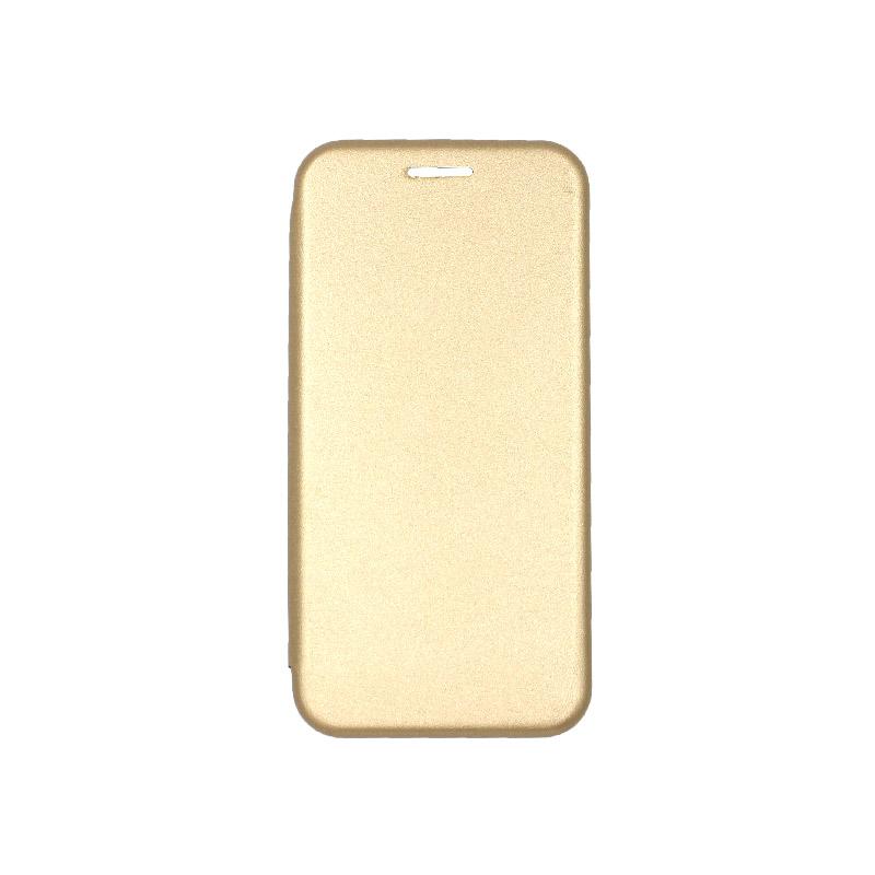 θήκη iphone 5 πορτοφόλι gold 1