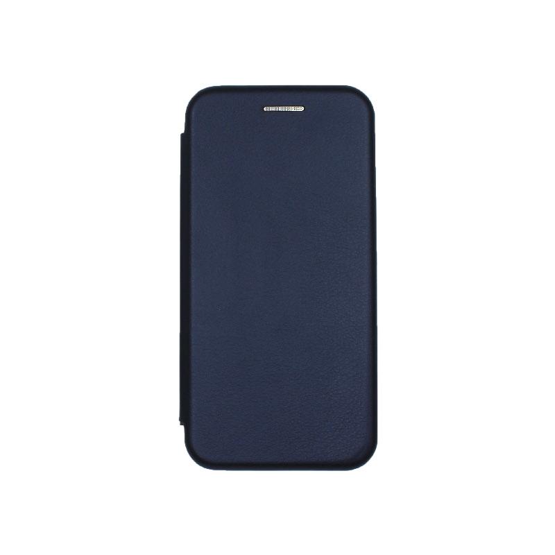 θήκη iphone 5 πορτοφόλι dark blue 3