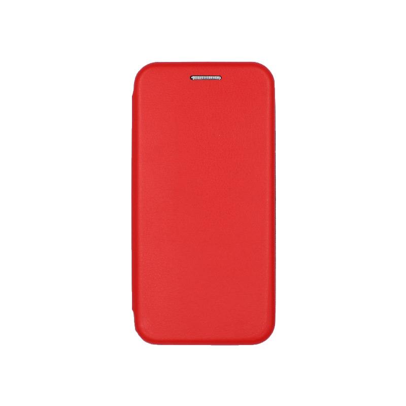 θήκη iphone 5 πορτοφόλι κόκκινο 4