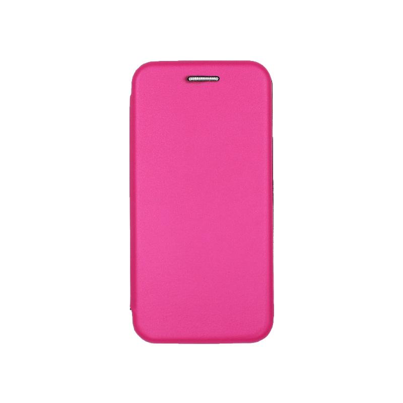 θήκη iphone 5 πορτοφόλι φούξια 2