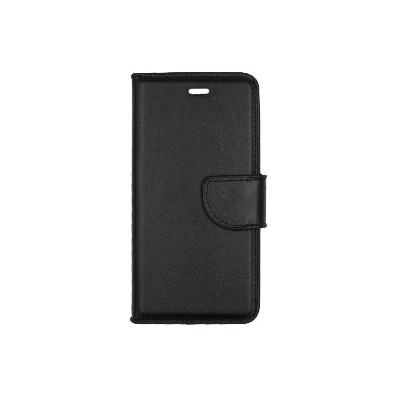 θήκη iphone 6 πορτοφόλι με λουράκι μαύρο 1