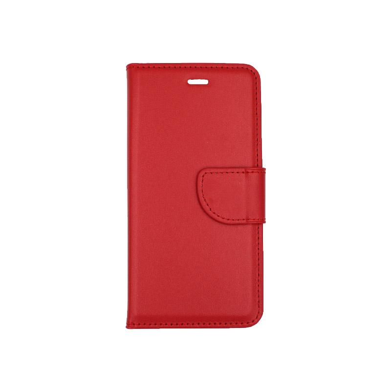 θήκη iphone 6 πορτοφόλι με λουράκι κόκκινο 1
