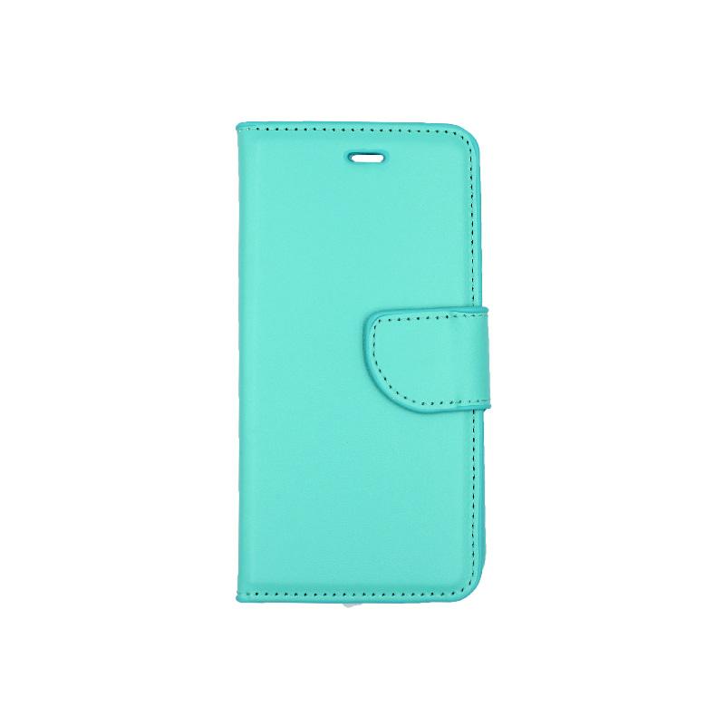 θήκη iphone 6 πορτοφόλι με λουράκι τιρκουάζ 1