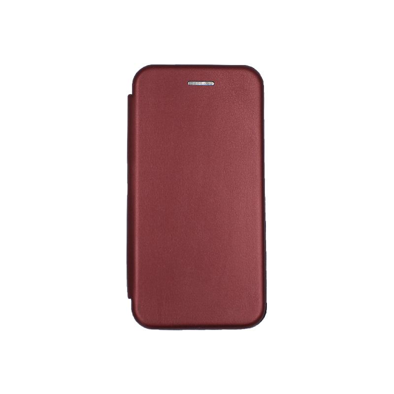 θήκη iphone 6 πορτοφόλι μπορντό 1