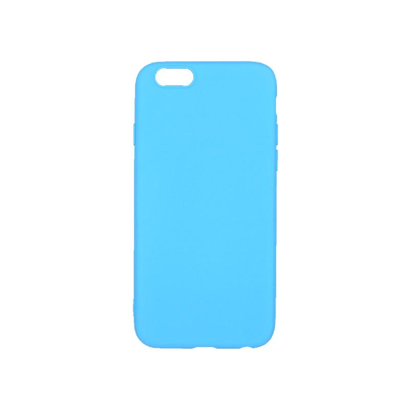 θήκη iphone 6 σιλικόνη γαλάζιο