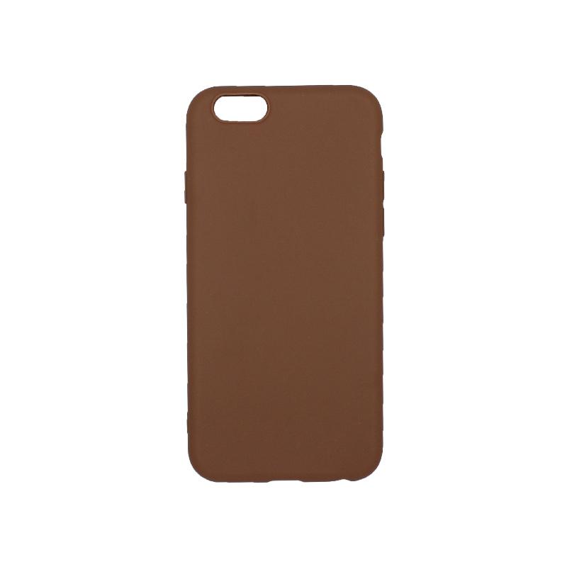 θήκη iphone 6 σιλικόνη καφέ