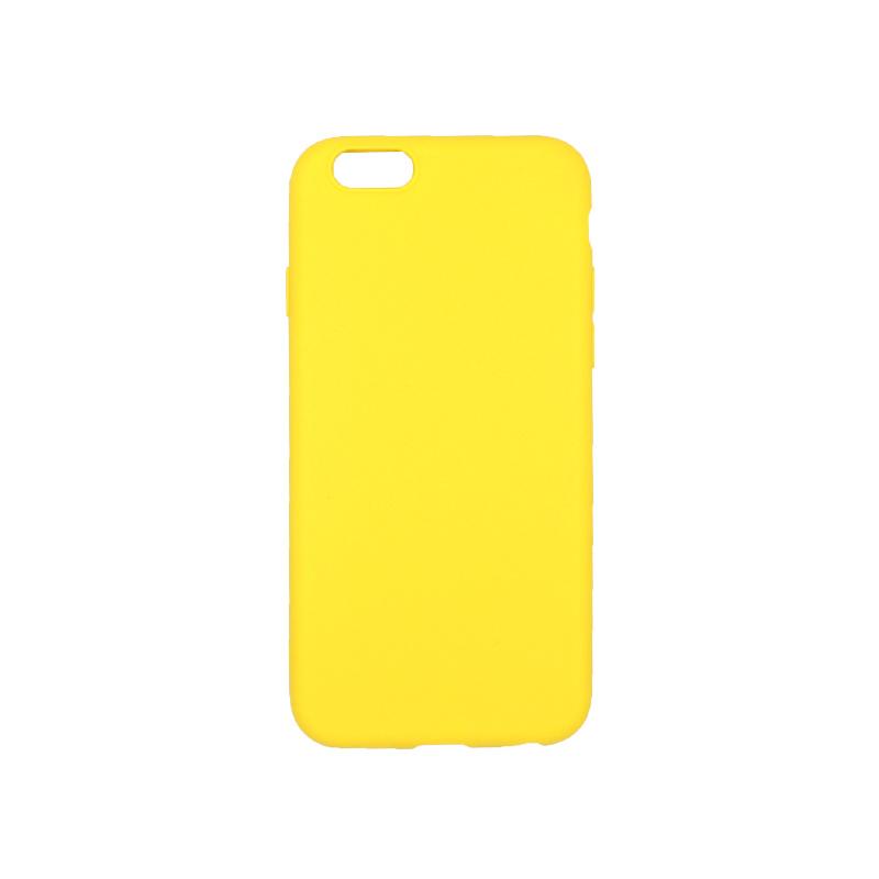 θήκη iphone 6 σιλικόνη κίτρινο