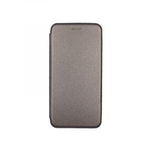 Θήκη samsung Α71 μαγνητικό πορτοφόλι γκρι 1