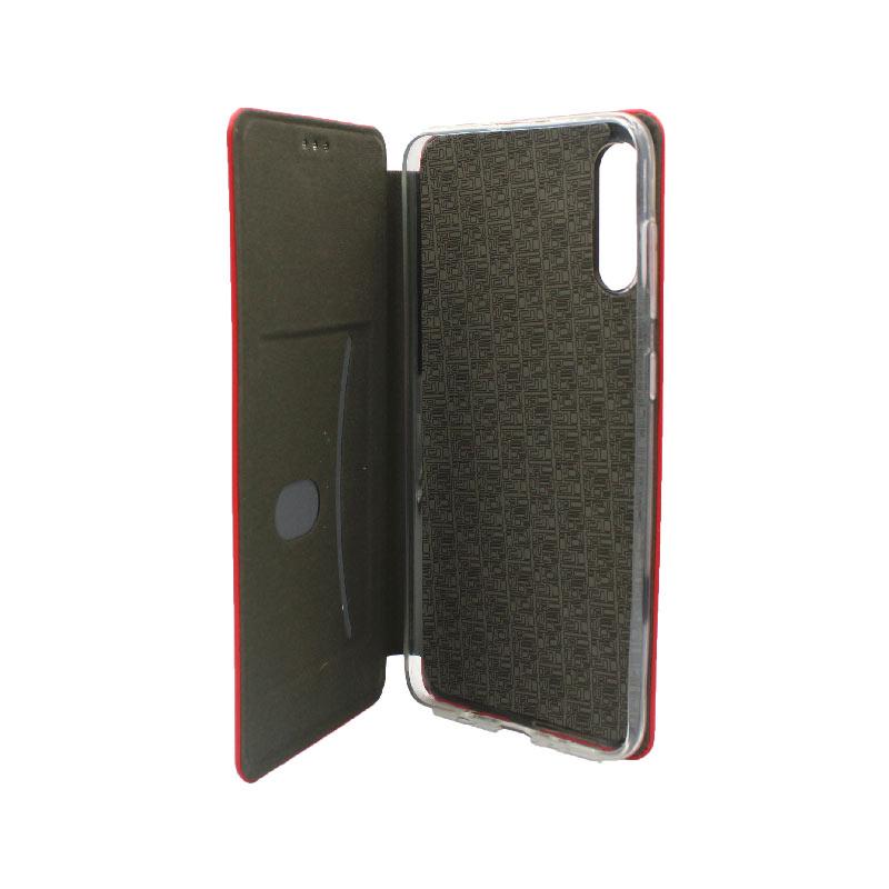 Θήκη Samsung Galaxy A70 / A70S Πορτοφόλι με Μαγνητικό Κλείσιμο κόκκινο 3