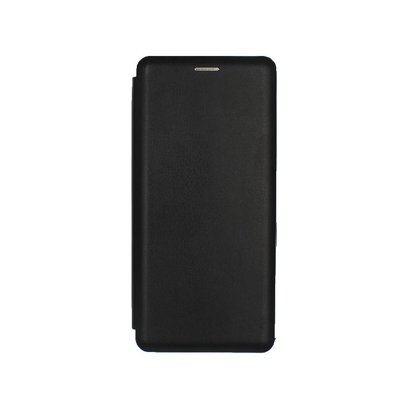Θήκη Samsung Galaxy A70 / A70S Πορτοφόλι με Μαγνητικό Κλείσιμο μαύρο 1