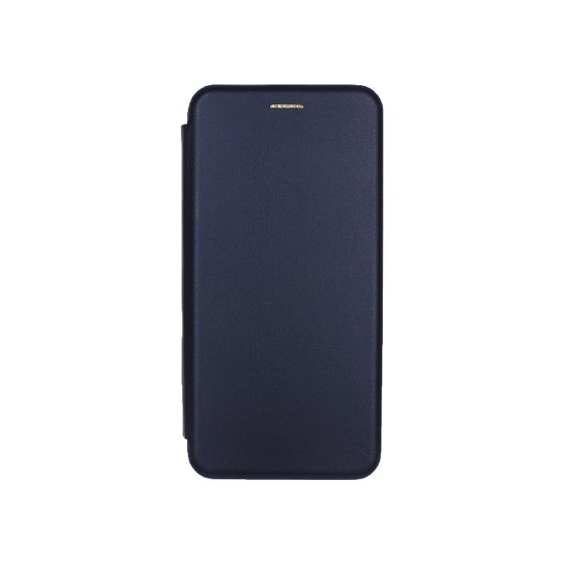 Θήκη samsung Α71 μαγνητικό πορτοφόλι μπλε 1