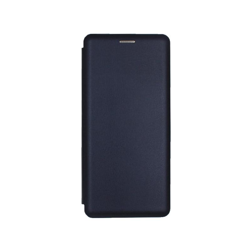 Θήκη Samsung Galaxy A70 / A70S Πορτοφόλι με Μαγνητικό Κλείσιμο μπλε 1