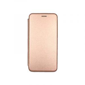 Θήκη samsung Α71 μαγνητικό πορτοφόλι ροζ χρυσό 1