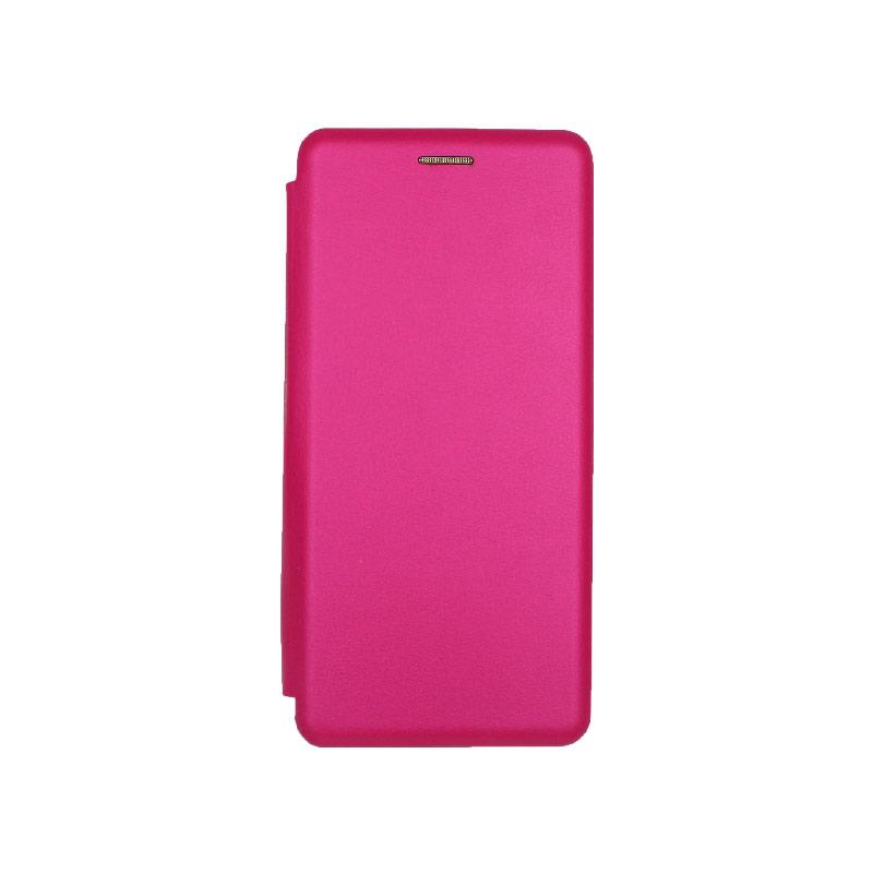 Θήκη Samsung A51 Πορτοφόλι Με Μαγνητικό Κλείσιμο φούξια 1