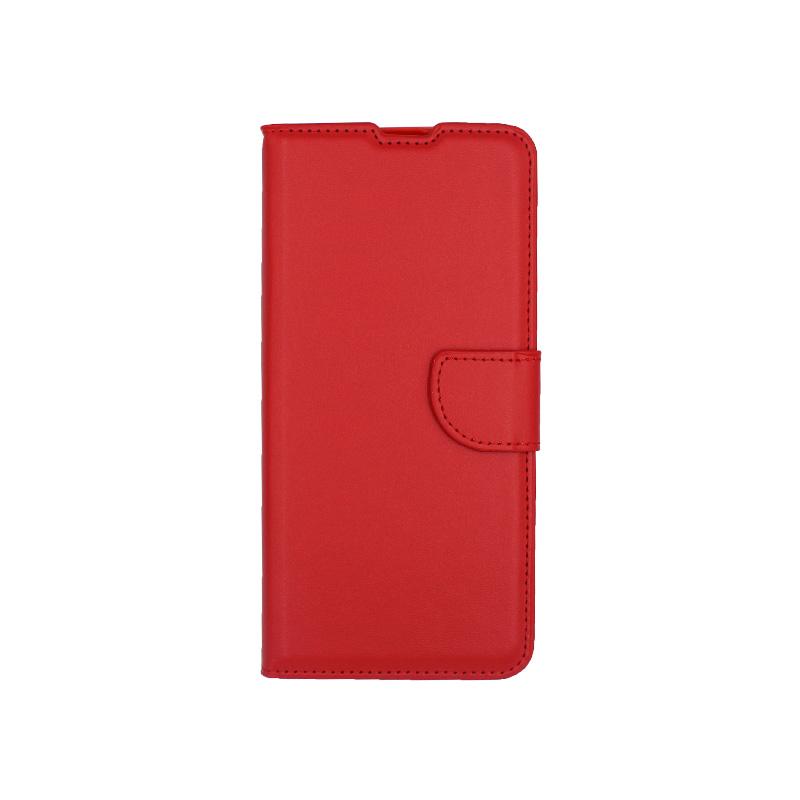 θήκη samsung A41 wallet κόκκινο 1