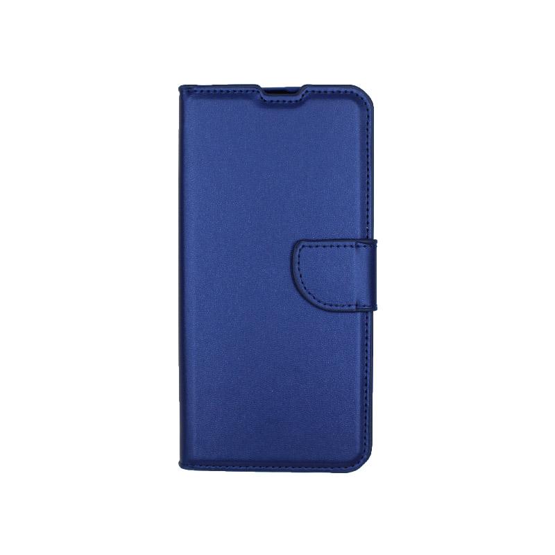 Θήκη Samsung A51 Wallet μπλε 1
