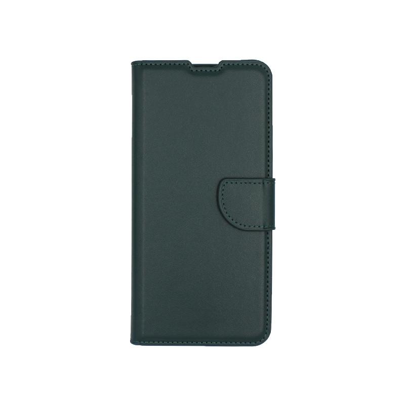 θήκη samsung A41 wallet πράσινο 1