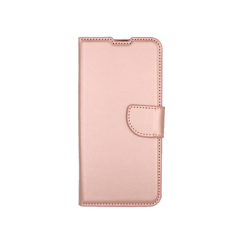 Θήκη Samsung A51 Wallet ροζ χρυσό 1