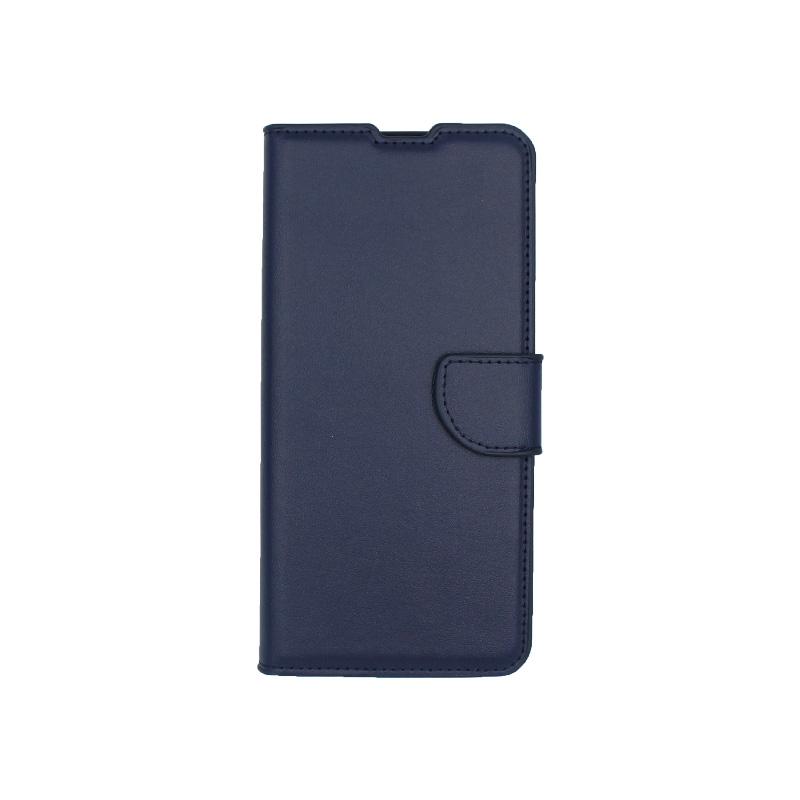 Θήκη Samsung A51 Wallet σκούρο μπλε 1