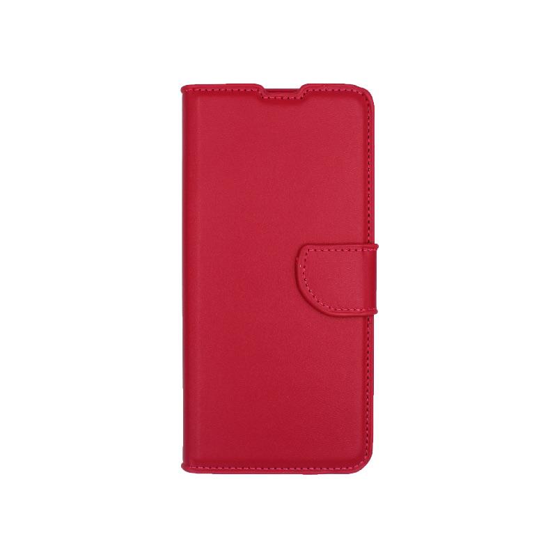 θήκη samsung A41 wallet φούξια 1