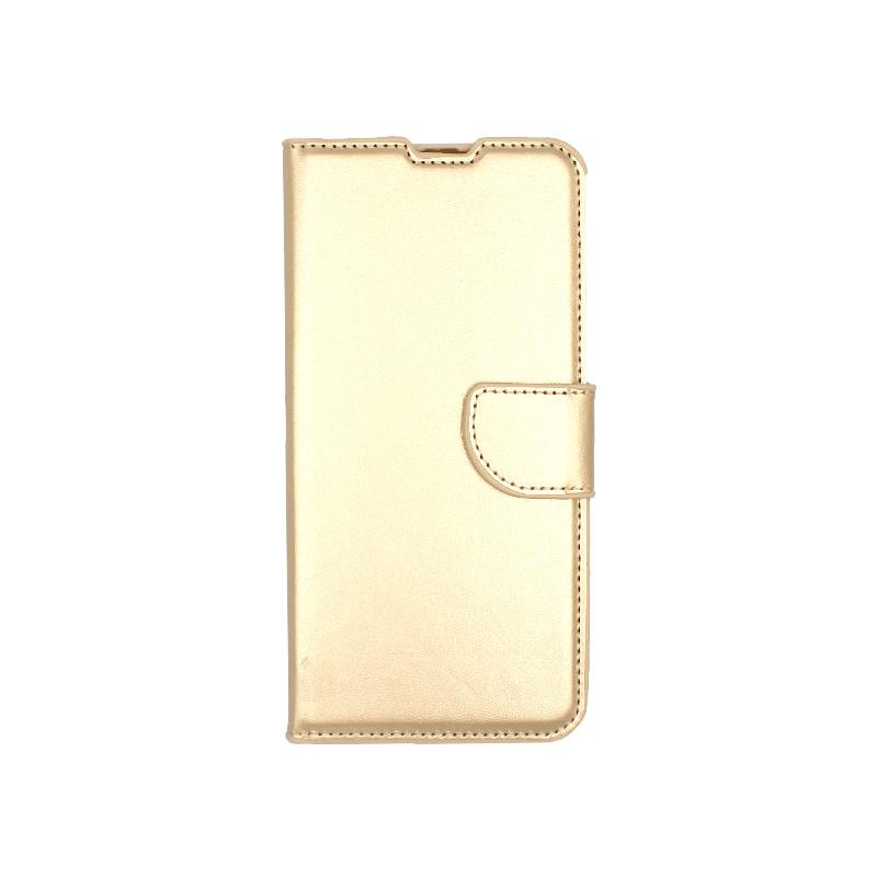 Θήκη Samsung A50,A30s και Α50s wallet χρυσό 1