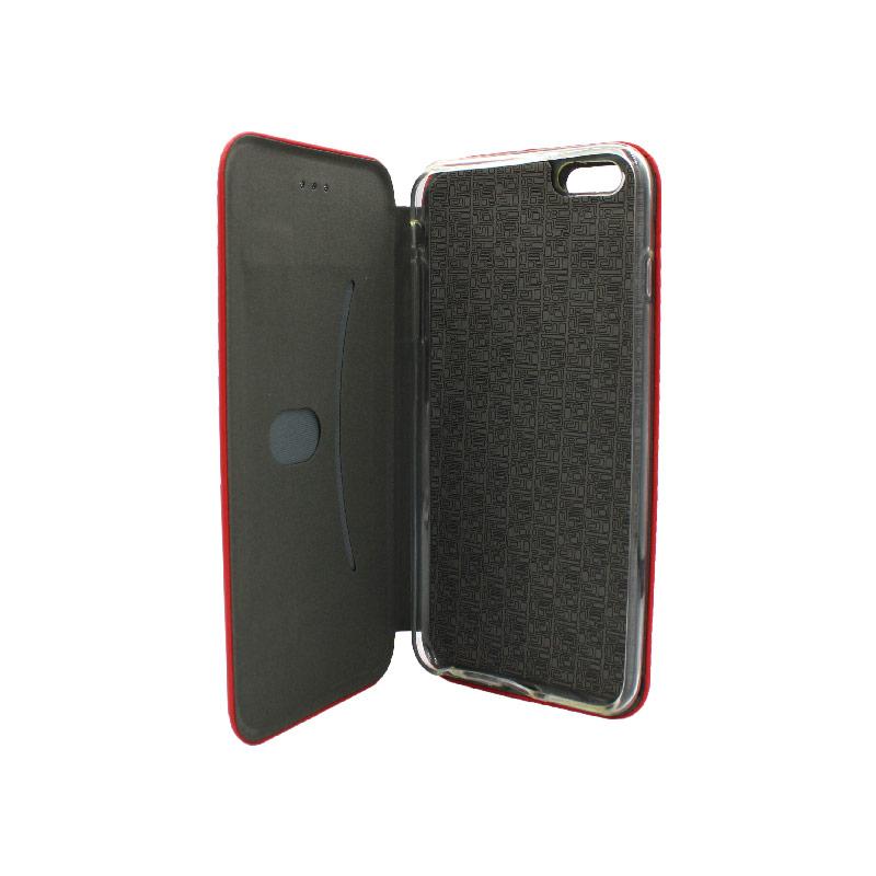 θήκη iphone 6 / 6s Plus πορτοφόλι κόκκινο 3