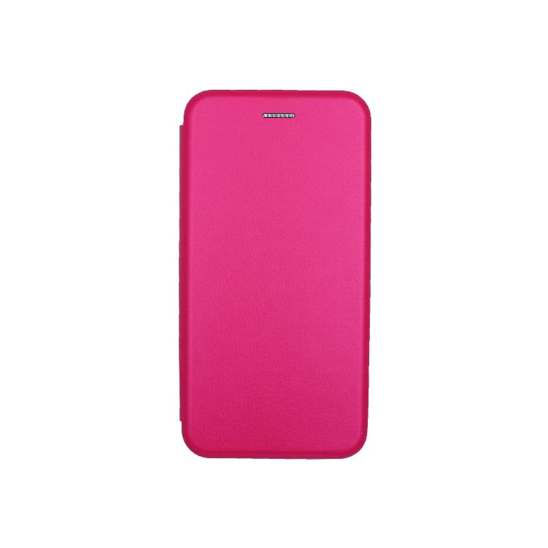 θήκη iphone 6 / 6s Plus πορτοφόλι φούξια 1