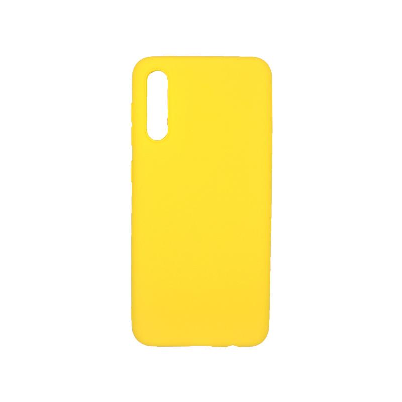 Θήκη Samsung A50 / A30S / A50S Σιλικόνη κίτρινο
