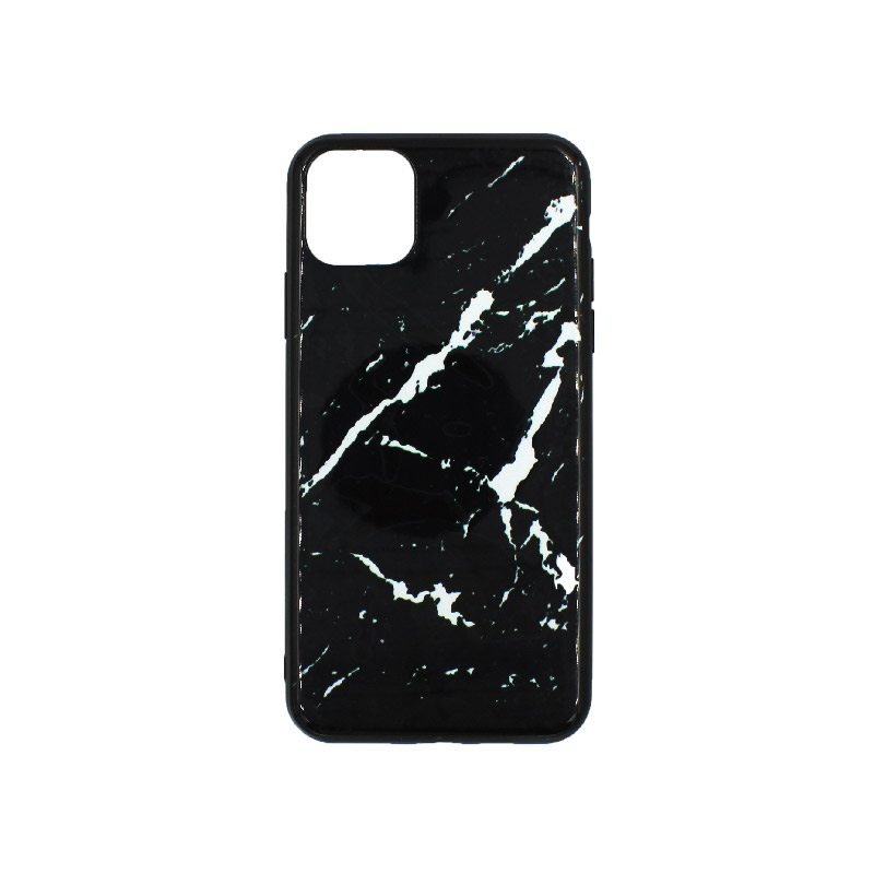 θήκη iphone 11 pro max μάρμαρο (μαύρο και άσπρο)