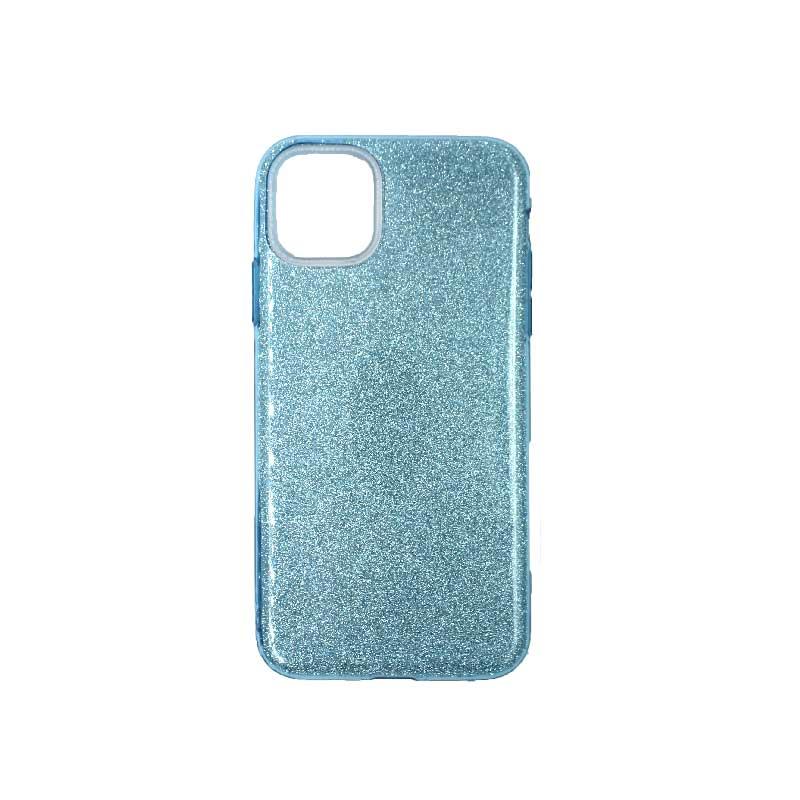 θήκη iphone 11 pro max glitter γαλάζιο