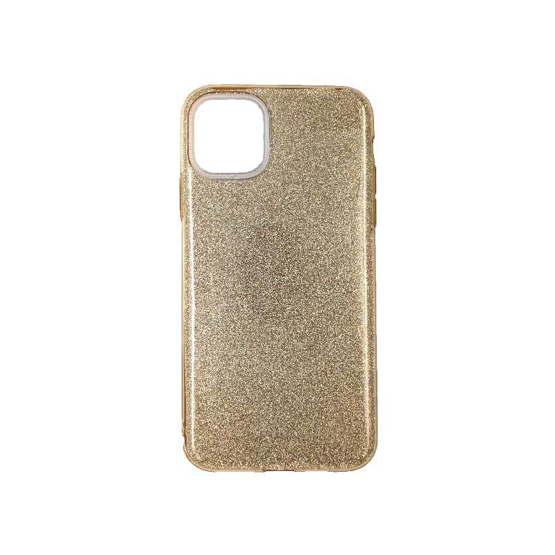 θήκη iphone 11 / 11 pro glitter χρυσό