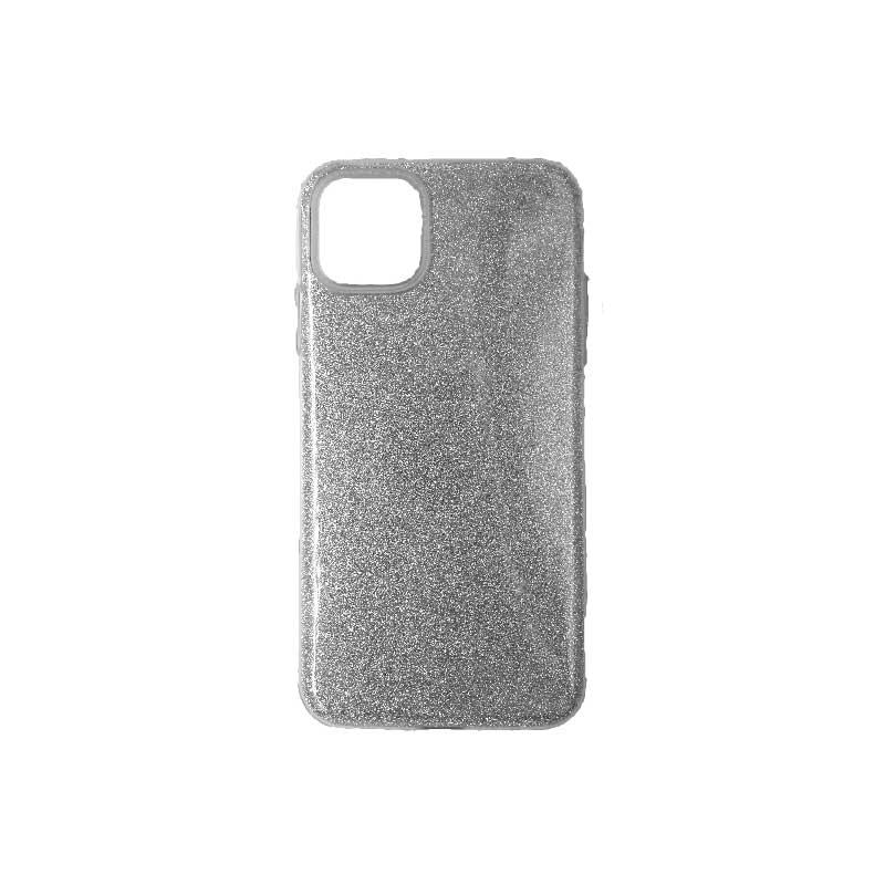 θήκη iphone 11 pro max glitter γκρι