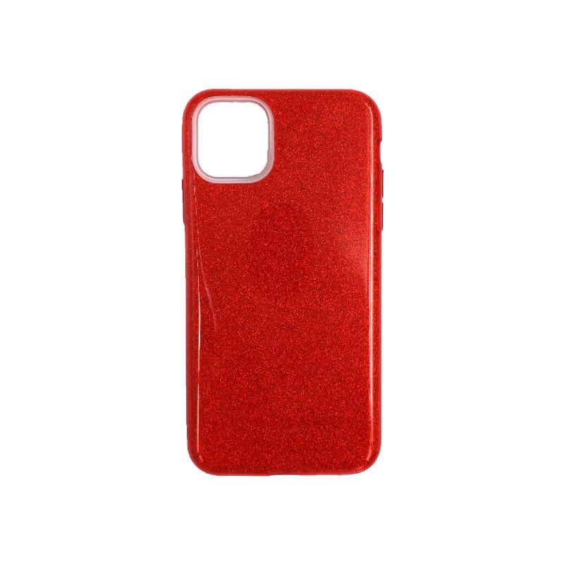 θήκη iphone 11 pro max glitter κόκκινο
