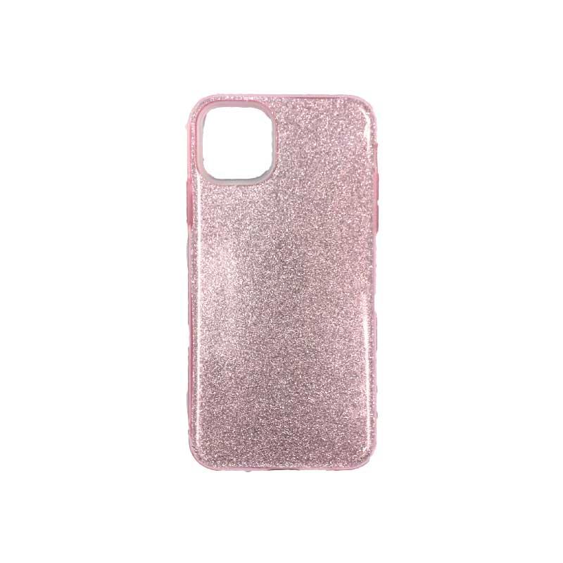 θήκη iphone 11 / 11 pro glitter ροζ