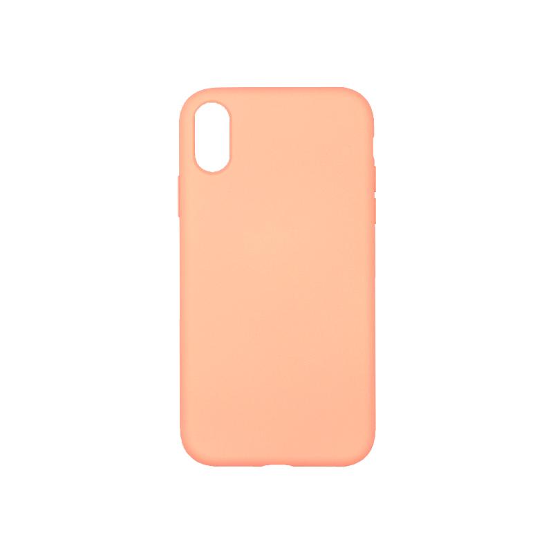 Θήκη iPhone XR Silky and Soft Touch Silicone πορτοκαλί