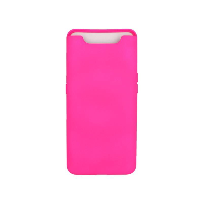 Θήκη Samsung Galaxy A80 / A90 Silky and Soft Touch Silicone φούξ 1