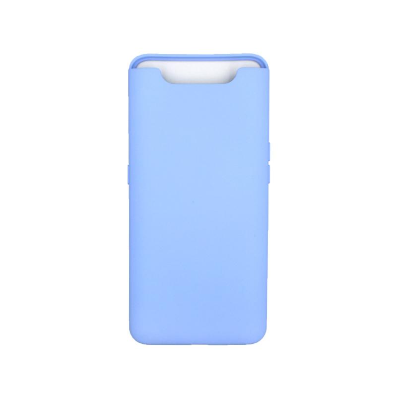 Θήκη Samsung Galaxy A80 / A90 Silky and Soft Touch Silicone λιλά 1