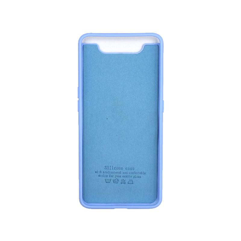 Θήκη Samsung Galaxy A80 / A90 Silky and Soft Touch Silicone λιλά 2
