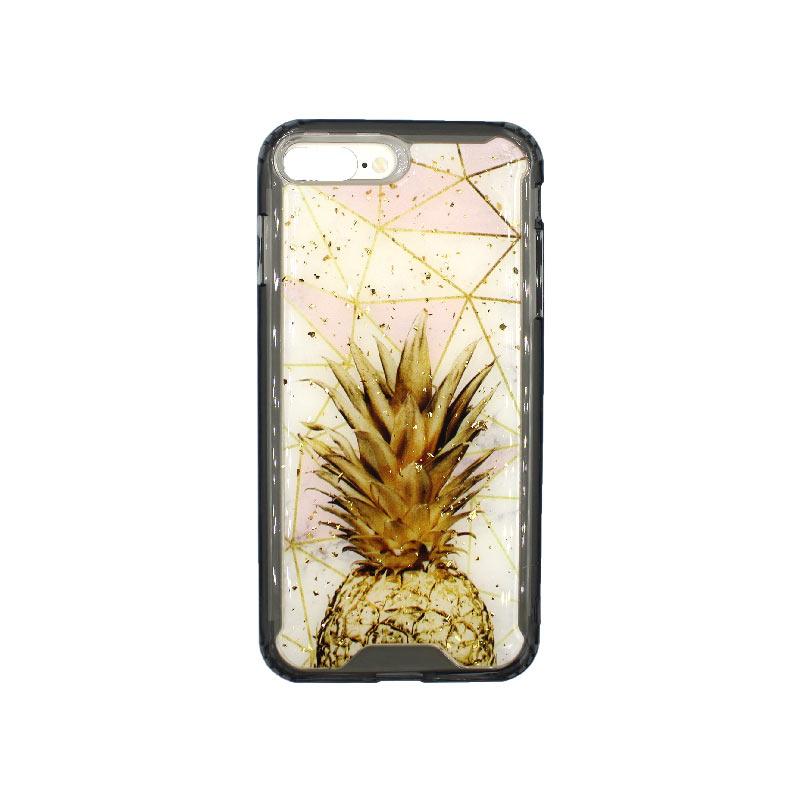 θήκη iPhone 7 Plus / 8 Plus σιλικόνη pineapple 1